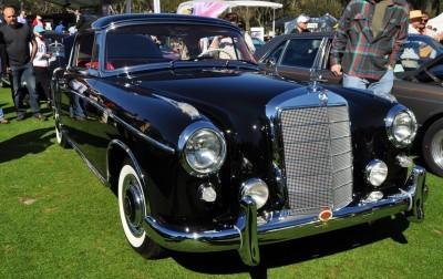 Amelia Concours -- Marque Showcases -- Mercedes-Benz 219 Peking-to-Paris, 220SE (Coupe), 250SL Pagoda and Even 500E HAMMER 45