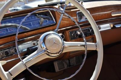 Amelia Concours -- Marque Showcases -- Mercedes-Benz 219 Peking-to-Paris, 220SE (Coupe), 250SL Pagoda and Even 500E HAMMER 48