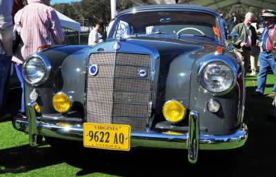 Amelia Concours -- Marque Showcases -- Mercedes-Benz 219 Peking-to-Paris, 220SE (Coupe), 250SL Pagoda and Even 500E HAMMER 50
