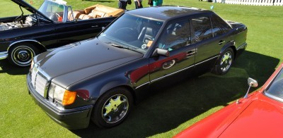 Amelia Concours -- Marque Showcases -- Mercedes-Benz 219 Peking-to-Paris, 220SE (Coupe), 250SL Pagoda and Even 500E HAMMER 8