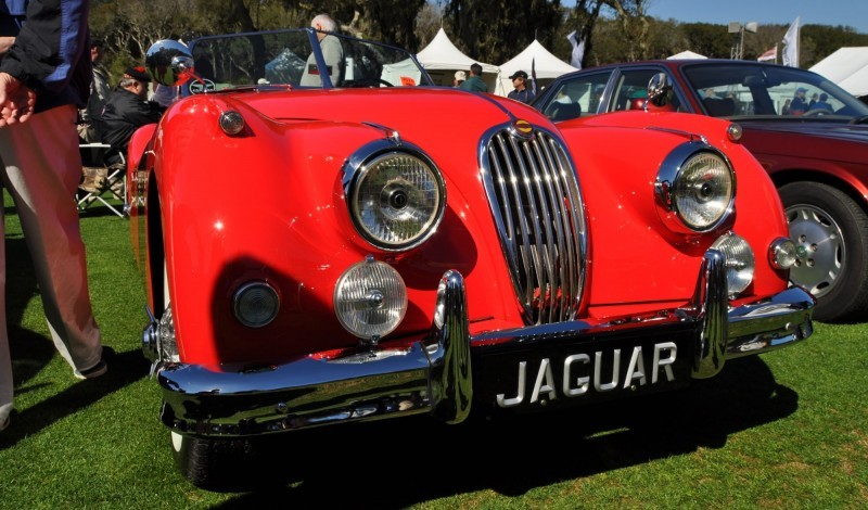 Amelia Island 2014 -- Marque Highlights -- JAGUAR -- XJR15, XK120 and even 'Jenny Blue' 16