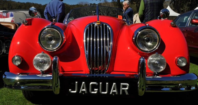 Amelia Island 2014 -- Marque Highlights -- JAGUAR -- XJR15, XK120 and even 'Jenny Blue' 17