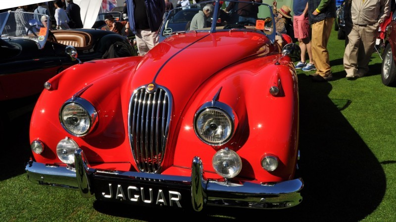 Amelia Island 2014 -- Marque Highlights -- JAGUAR -- XJR15, XK120 and even 'Jenny Blue' 18