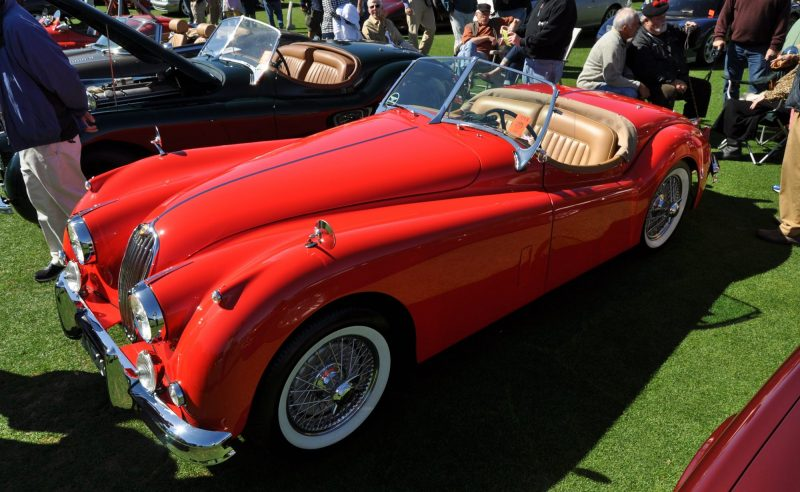 Amelia Island 2014 -- Marque Highlights -- JAGUAR -- XJR15, XK120 and even 'Jenny Blue' 20