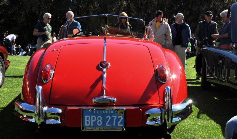 Amelia Island 2014 -- Marque Highlights -- JAGUAR -- XJR15, XK120 and even 'Jenny Blue' 22