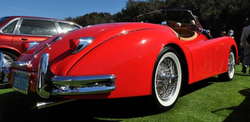 Amelia Island 2014 -- Marque Highlights -- JAGUAR -- XJR15, XK120 and even 'Jenny Blue' 23