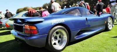 Amelia Island 2014 -- Marque Highlights -- JAGUAR -- XJR15, XK120 and even 'Jenny Blue' 4