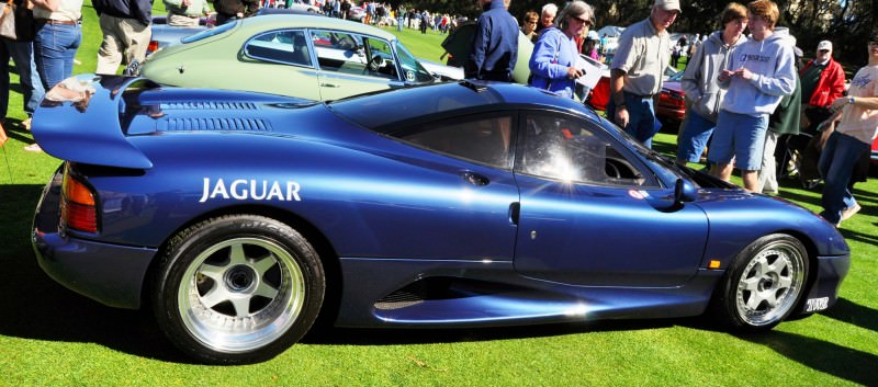 Amelia Island 2014 -- Marque Highlights -- JAGUAR -- XJR15, XK120 and even 'Jenny Blue' 5
