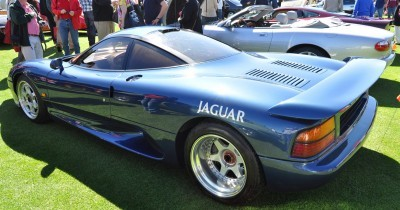 Amelia Island 2014 -- Marque Highlights -- JAGUAR -- XJR15, XK120 and even 'Jenny Blue' 7