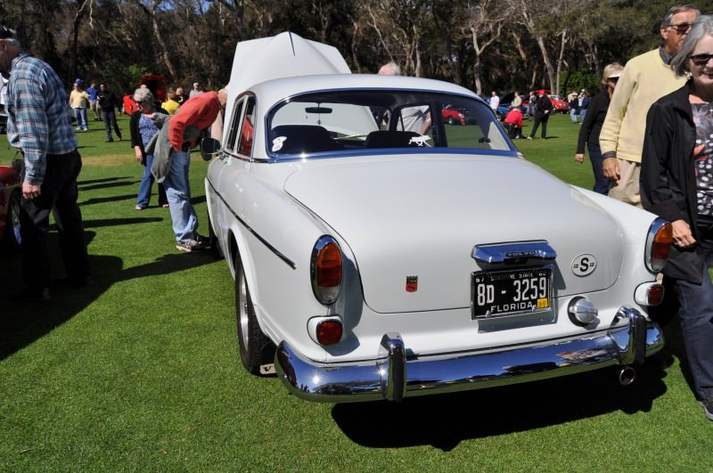 Amelia Island 2014 -- Marque Highlights -- VOLVO PV444 and 122S Amazon Coupe -- Pre-Dating BMW 3 series Ancestors 1