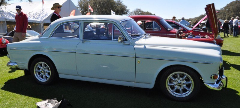 Amelia Island 2014 -- Marque Highlights -- VOLVO PV444 and 122S Amazon Coupe -- Pre-Dating BMW 3 series Ancestors 10