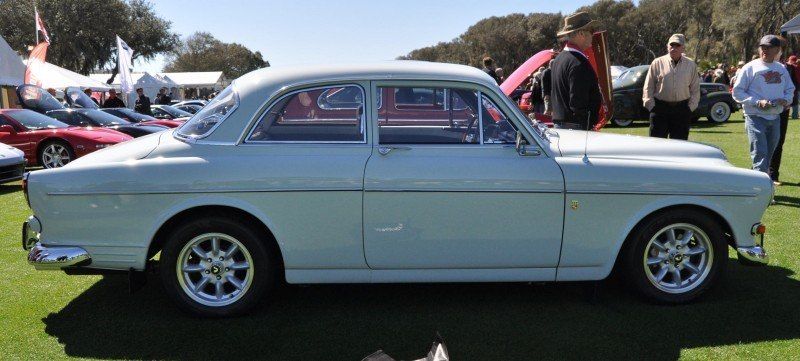 Amelia Island 2014 -- Marque Highlights -- VOLVO PV444 and 122S Amazon Coupe -- Pre-Dating BMW 3 series Ancestors 12