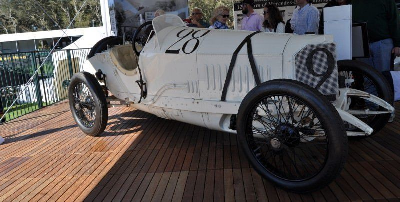 Amelia Island Time Capsules -- 1914 Mercedes-Benz GP Car in 25 Original, High-Res Photos 10