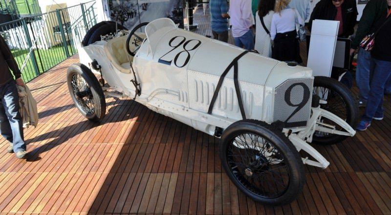 Amelia Island Time Capsules -- 1914 Mercedes-Benz GP Car in 25 Original, High-Res Photos 11
