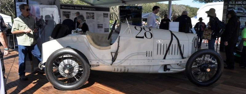 Amelia Island Time Capsules -- 1914 Mercedes-Benz GP Car in 25 Original, High-Res Photos 13