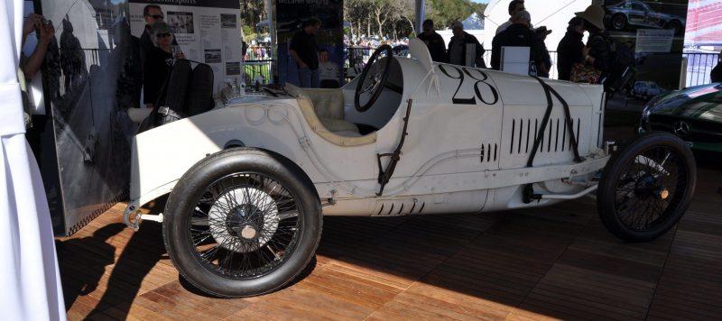 Amelia Island Time Capsules -- 1914 Mercedes-Benz GP Car in 25 Original, High-Res Photos 14
