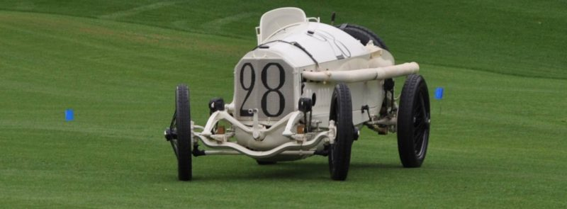 Amelia Island Time Capsules -- 1914 Mercedes-Benz GP Car in 25 Original, High-Res Photos 2