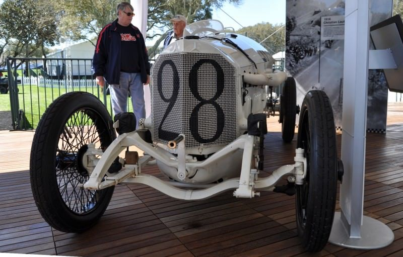 Amelia Island Time Capsules -- 1914 Mercedes-Benz GP Car in 25 Original, High-Res Photos 22