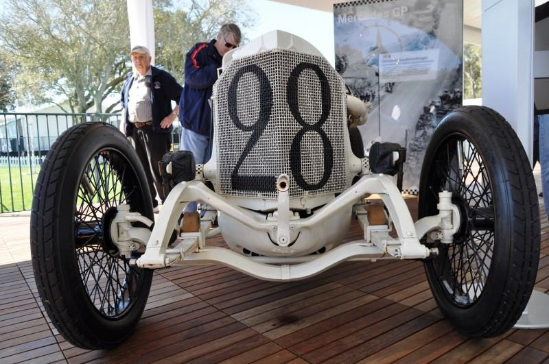 Amelia Island Time Capsules -- 1914 Mercedes-Benz GP Car in 25 Original, High-Res Photos 23