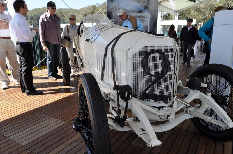Amelia Island Time Capsules -- 1914 Mercedes-Benz GP Car in 25 Original, High-Res Photos 25