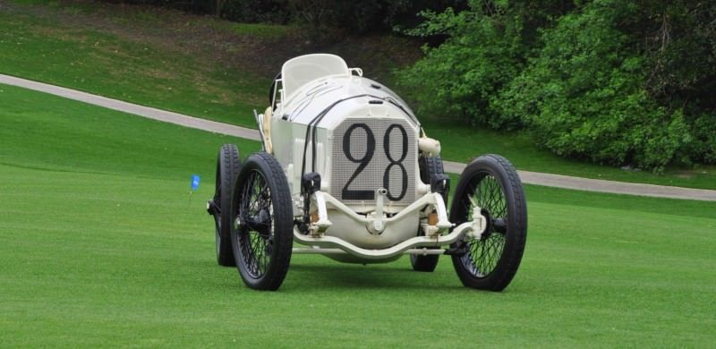Amelia Island Time Capsules -- 1914 Mercedes-Benz GP Car in 25 Original, High-Res Photos 8