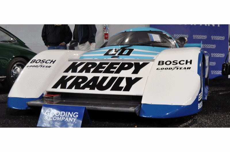 Amelia Island Time Capsules -- 1984 Porsche 962 -- A Fire-Breathing Turbo in the Classic LMP1 Body -- Clears $1.925M for Gooding GIF1
