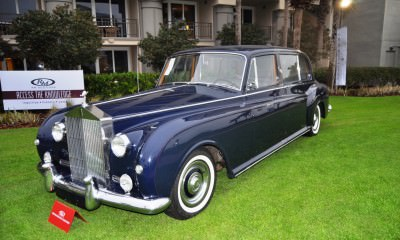 Amelia Time Capsules -- 1960 Rolls-Royce Phantom V Limo by Park Ward -- 60 Delightful Photos 40