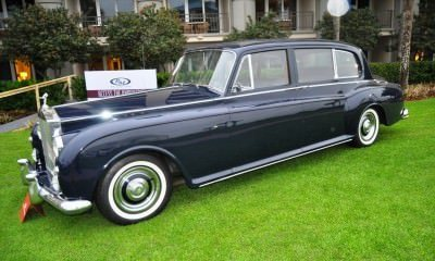 Amelia Time Capsules -- 1960 Rolls-Royce Phantom V Limo by Park Ward -- 60 Delightful Photos 42