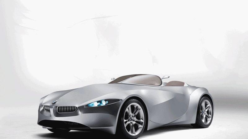 Animation - 2006 BMW Concept GINA - GIF