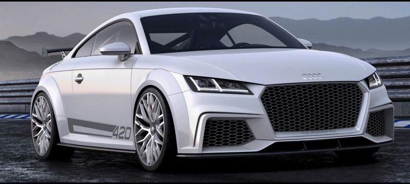 Audi TT SQC Promises 3.6s 60-mph Sprint 222GIF