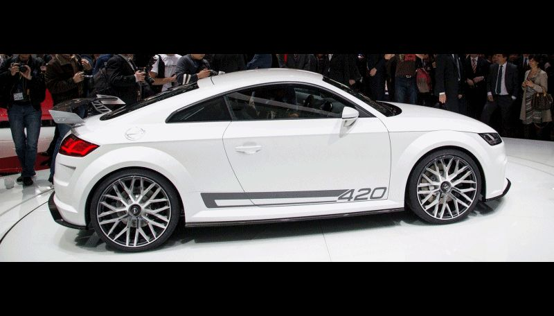 Audi TT SQC Promises 3.6s 60-mph Sprint GIF