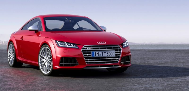 Audi TT is Fighting Fit for 2015 -- Ultra-Simple, High-Tech Interior + TT SQC Promises 3.6s 60-mph Sprint 1