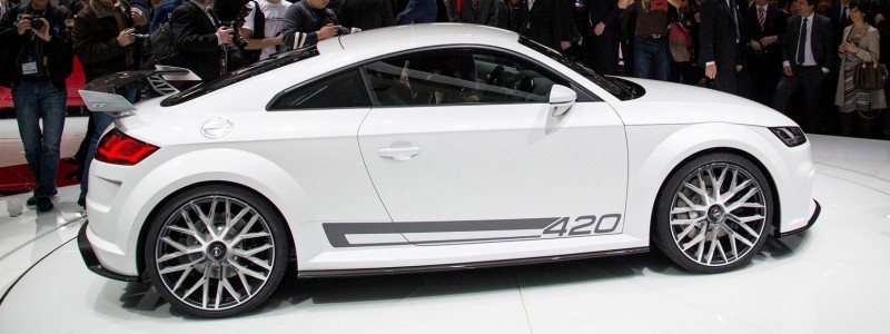 Audi TT is Fighting Fit for 2015 -- Ultra-Simple, High-Tech Interior + TT SQC Promises 3.6s 60-mph Sprint 12
