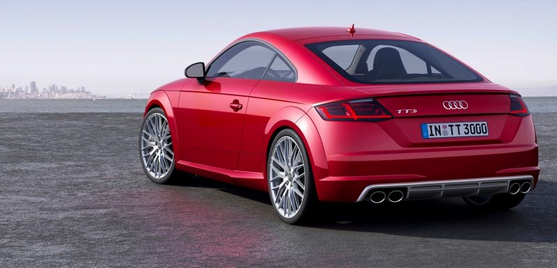 Audi TT is Fighting Fit for 2015 -- Ultra-Simple, High-Tech Interior + TT SQC Promises 3.6s 60-mph Sprint 3