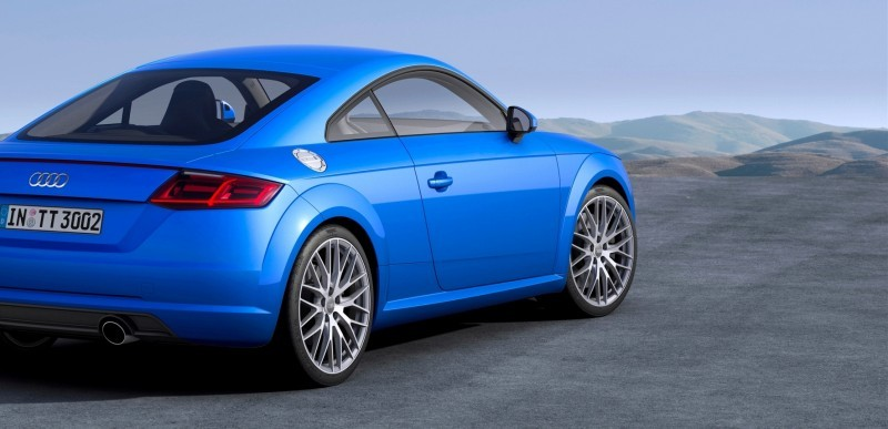 Audi TT is Fighting Fit for 2015 -- Ultra-Simple, High-Tech Interior + TT SQC Promises 3.6s 60-mph Sprint 32