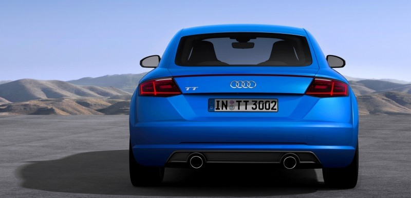 Audi TT is Fighting Fit for 2015 -- Ultra-Simple, High-Tech Interior + TT SQC Promises 3.6s 60-mph Sprint 34