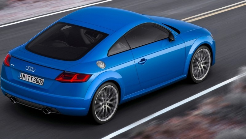 Audi TT is Fighting Fit for 2015 -- Ultra-Simple, High-Tech Interior + TT SQC Promises 3.6s 60-mph Sprint 39