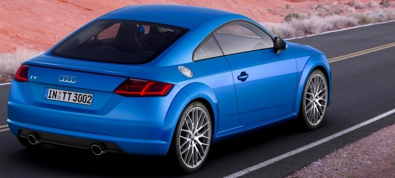 Audi TT is Fighting Fit for 2015 -- Ultra-Simple, High-Tech Interior + TT SQC Promises 3.6s 60-mph Sprint 40