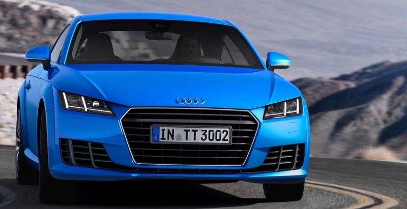 Audi TT is Fighting Fit for 2015 -- Ultra-Simple, High-Tech Interior + TT SQC Promises 3.6s 60-mph Sprint 42