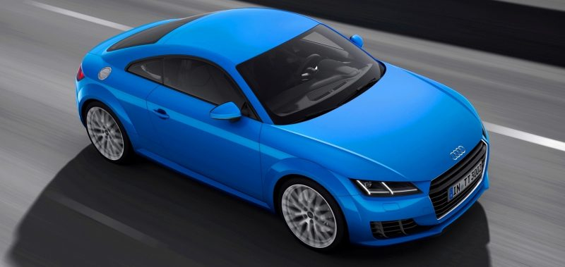Audi TT is Fighting Fit for 2015 -- Ultra-Simple, High-Tech Interior + TT SQC Promises 3.6s 60-mph Sprint 44