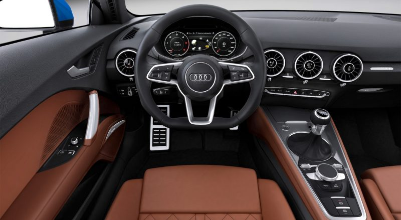 Audi TT is Fighting Fit for 2015 -- Ultra-Simple, High-Tech Interior + TT SQC Promises 3.6s 60-mph Sprint 46