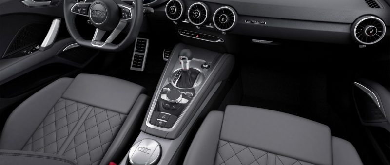 Audi TT is Fighting Fit for 2015 -- Ultra-Simple, High-Tech Interior + TT SQC Promises 3.6s 60-mph Sprint 6