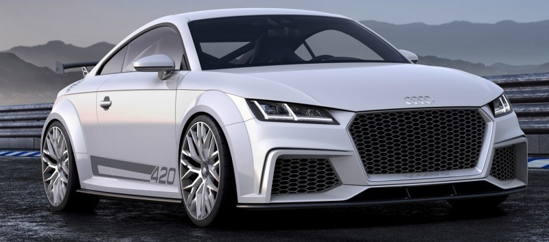 Audi TT is Fighting Fit for 2015 -- Ultra-Simple, High-Tech Interior + TT SQC Promises 3.6s 60-mph Sprint 7