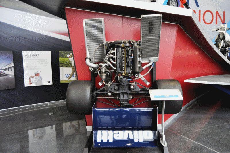 BMW F1 Turbo 1982 GIF