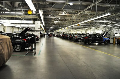 BMW X3 and X4 Factory Tour in 111 High-Res Photos -- Cool, Calm, and Quiet = Opposite of Most Auto Plants 100