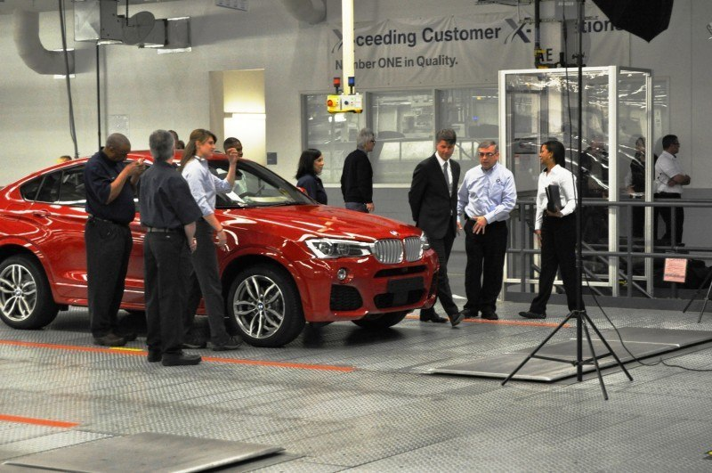 BMW X3 and X4 Factory Tour in 111 High-Res Photos -- Cool, Calm, and Quiet = Opposite of Most Auto Plants 102