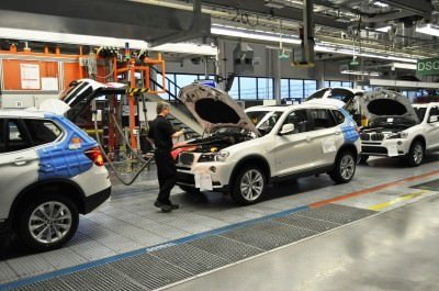 BMW X3 and X4 Factory Tour in 111 High-Res Photos -- Cool, Calm, and Quiet = Opposite of Most Auto Plants 68