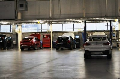 BMW X3 and X4 Factory Tour in 111 High-Res Photos -- Cool, Calm, and Quiet = Opposite of Most Auto Plants 72