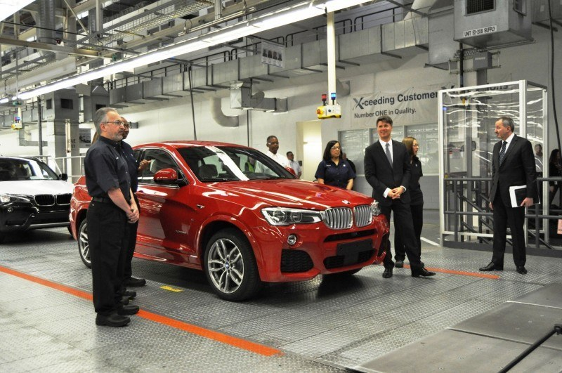 BMW X3 and X4 Factory Tour in 111 High-Res Photos -- Cool, Calm, and Quiet = Opposite of Most Auto Plants 89