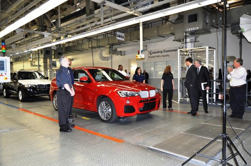 BMW X3 and X4 Factory Tour in 111 High-Res Photos -- Cool, Calm, and Quiet = Opposite of Most Auto Plants 90
